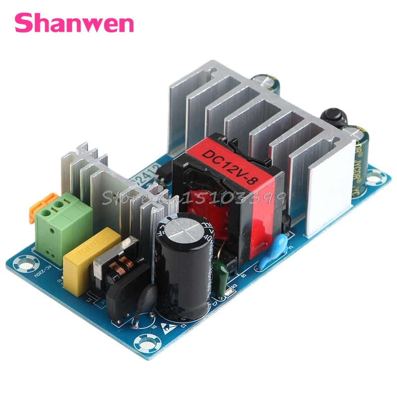 New 6A-8A Unit For 12V 100W Switching Power Supply Board AC-DC Circuit Module G08 Drop ship new 6a 8a unit for 12v 100w switching power supply board ac dc circuit module