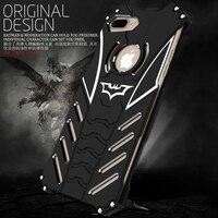 I7 PLUS Original Design Metal Shell Cool Metal Aluminum THOR IRONMAN Protect Phone Cover Shell Case