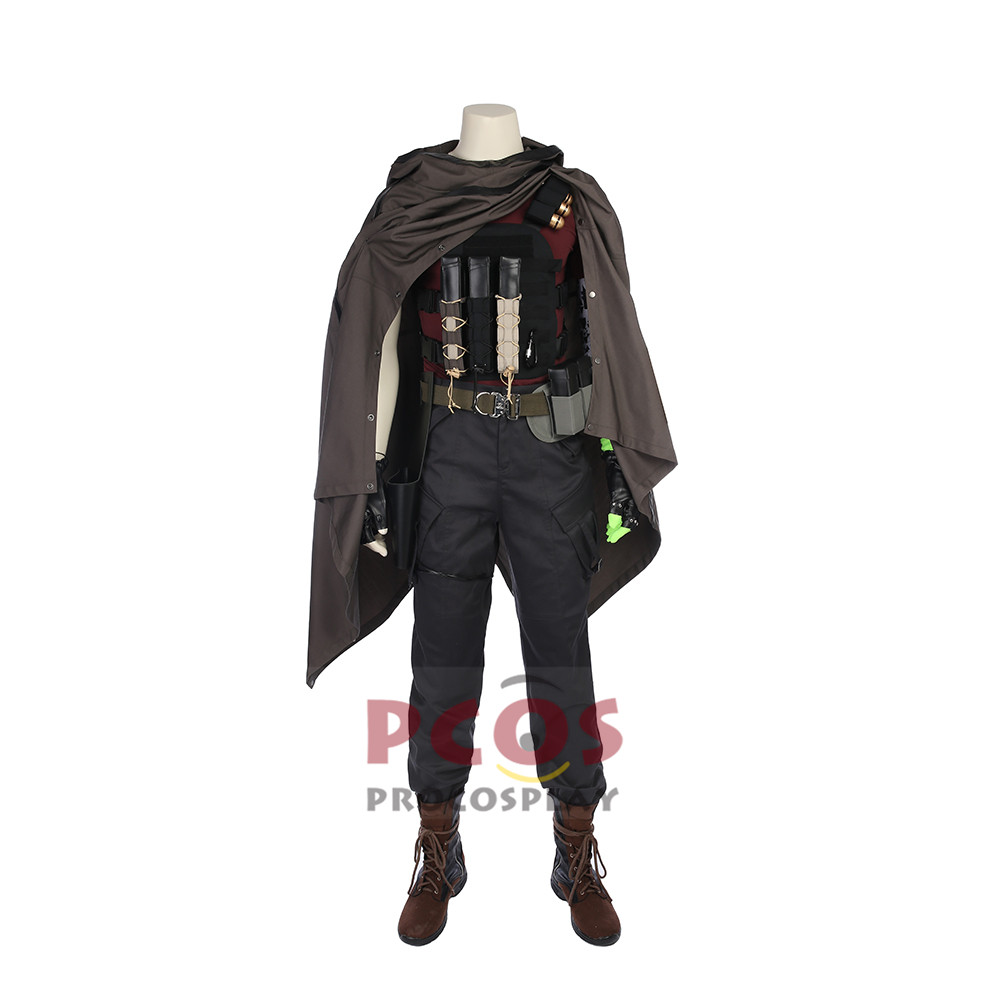 Deadpool 2 Hero Nathan Christopher Charles Summers black Costume & Shoes mp003921