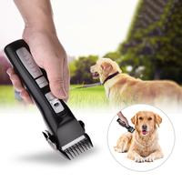 Pet Clipper Rechargeable Shaver Pet Hair Cut Beauty Salon 2 Speed Professional Pet Electric Shaver (US And European Standards)