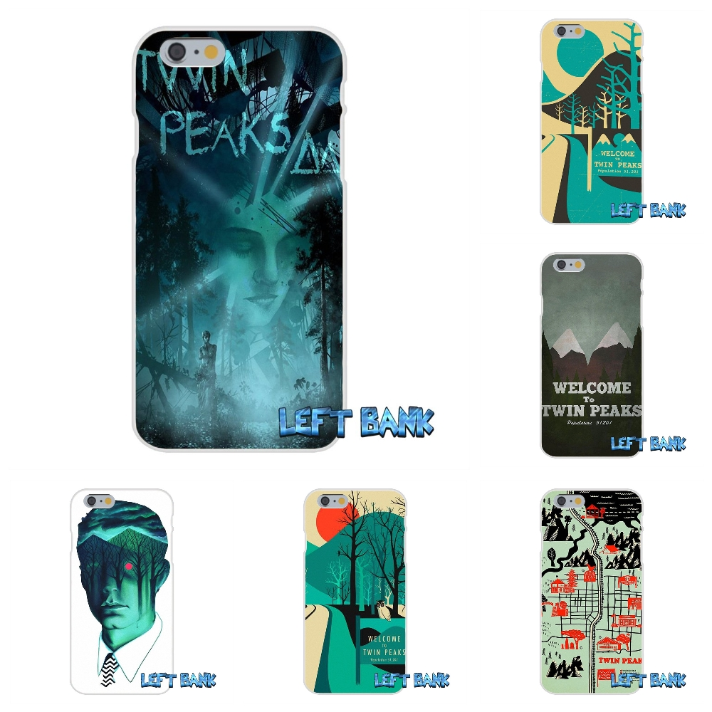 Twin Peaks Sheriff Department Soft Silicone TPU Transparent Cover Case For Samsung Galaxy Note 3 4 5 S4 S5 MINI S6 S7 edge