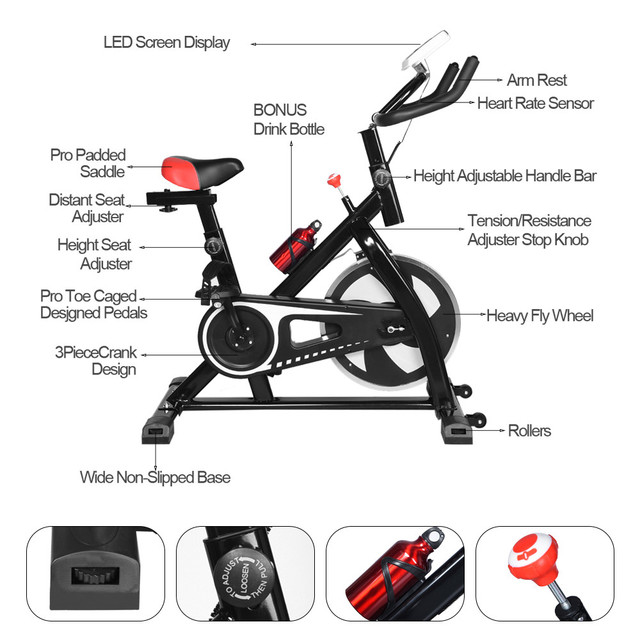 Indoor Spinning Bicycle  4