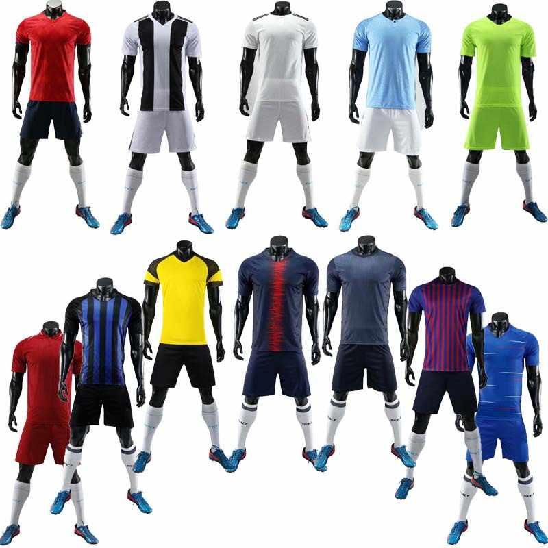 8209e1c14 2018 - 2019 Football jerseys Adults & children jerseys Blank Soccer  Training Suit Soccer Jersey &