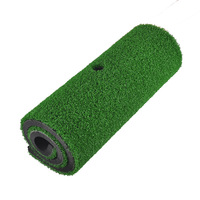 PGM Brand Indoor Backyard Golf Mat Training Hitting Pad Practice Rubber Tee Holder Grass Mat Grassroots