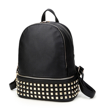 Винтаж повседневная новый стиль кожа школьные сумки высокого качества hotsale женщины конфеты сцепления известный бренд рюкзак