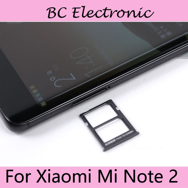 For Xiaomi Mi Note 2 Mobile Phone SIM Card Tray SD Holder