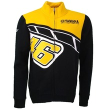 New 2017 Valentino Rossi VR46 M1 For Yamaha Heritage Edition Moto GP Mens FELPA Zip-up Sweater