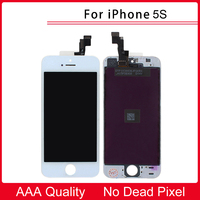 100 Tested AAA Quality White New LCD Display Touch Screen Digitizer Replacement Repair Frame Assembly For