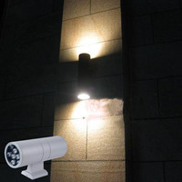 Outdoor Wall Lamp Led Double Slider Outdoor Waterproof Modern Brief Single Head Wall Lamp