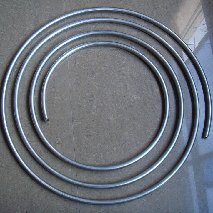 OD 5mm Thickness 1mm SS304 Stainless steel coil pipe soft capillary tube bright surface 304 stainless steel capillary tube od 3mm x 1mm id length 250mm excellent rust resistance can be use to chemical industry etc