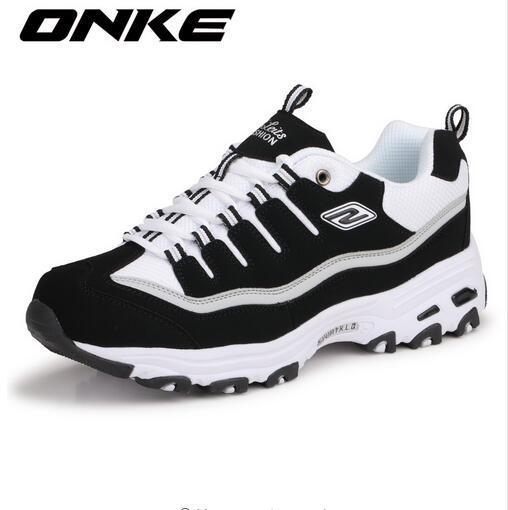 ONKE Новый Список Горячей Продажи моды марка Весна и Осень Дышащая Мужская повседневная обувь любителей обувь z795-595