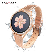 MAFAM M8 Women Smart Watch Heart Rate Blood Pressure Physiological Cycle Fitness Tracker IP68 Waterproof Sport Smartwatch b88 men women fitness tracker watch heart rate blood pressure calorie counter female physiological cycle tracker bracelet gift