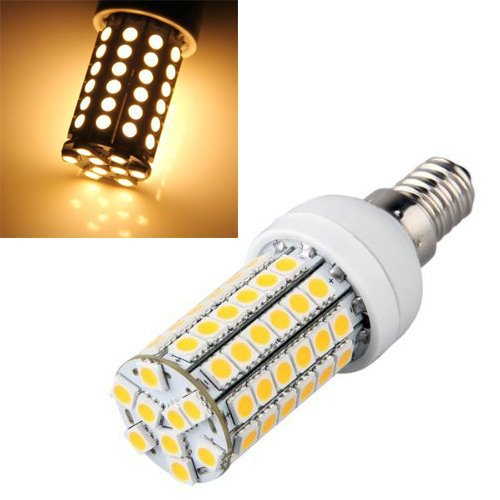 Купить с кэшбэком 5 XE14 9W 69x5050SMD 630LM 6000-6500K Natural White Light LED Corn Bulb ampoule Lampe  5050 SMD 69 LEDs Blanc Chaud  (220-240V)