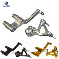 Motorcycle CNC Aluminium Steering Stabilizer Damper Mounting Bracket For DUCATI Monster 1100 1100S 2009 2010 2011