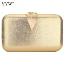 Gold Zinc Alloy Clutch Bag For Women Elegant Evening Party Handbags Clutches Purse Quality Mini Prom Banquet Wedding 2019