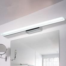 LED Makeup mirror lamp Bathroom Mirror Waterproof lighted makeup bulbs Indoor Long Wall sconce Lamp Fixtures