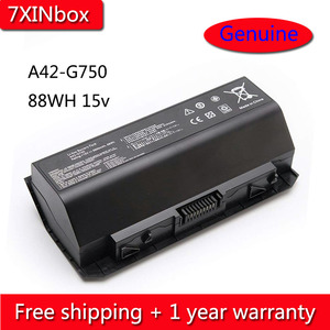 7XINbox 88Wh 15V A42-G750 Battery For Asus ROG G750 G750JM G750JS G750J G750JW G750JH G750JX G750JZ Series Laptop 5900mAh