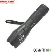 E17 Torch 3x AAA Flashlight 18650 ZOOM LED Torch Flash lights 5 Mode XML T6 Aluminum Adjustable lanterna