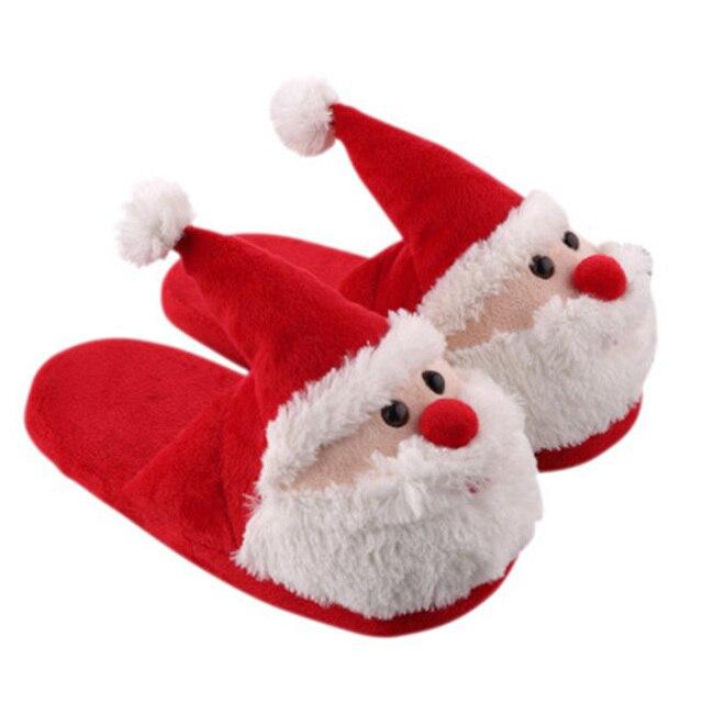 Le Père Noël Chaussures D'intérieur De La Maison wf8icIJpG