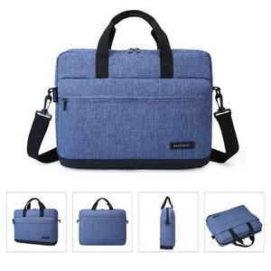 Image 4 - BAGSMART 15.6 Inch Laptop Briefcase Bag Handbag Nylon Briefcase Office Bags Business Computer Bags Blue