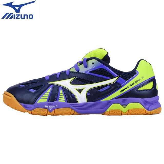 f7c6837019c MIZUNO WAVE MEDAL 5 Table Tennis Shoes for men women ping pong Cushion  Stable Sports Shoes Breathablehigh quality Sneakers