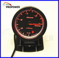 "2.5"" 60MM DF Advance CR Gauge Meter Vaccum Gauge -1-0BAR Black Face With Turbo Sensor/AUTO GAUGE"
