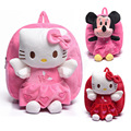 Lovely Minnie Plush backpack cartoon hello kitty school bags toys hobbies dolls plush children backpacks boys girls mochila