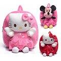 Precioso Minnie morral de la Felpa bolsas escuela de dibujos animados hello kitty juguetes y pasatiempos muñecos de peluche de los niños mochilas niñas mochila