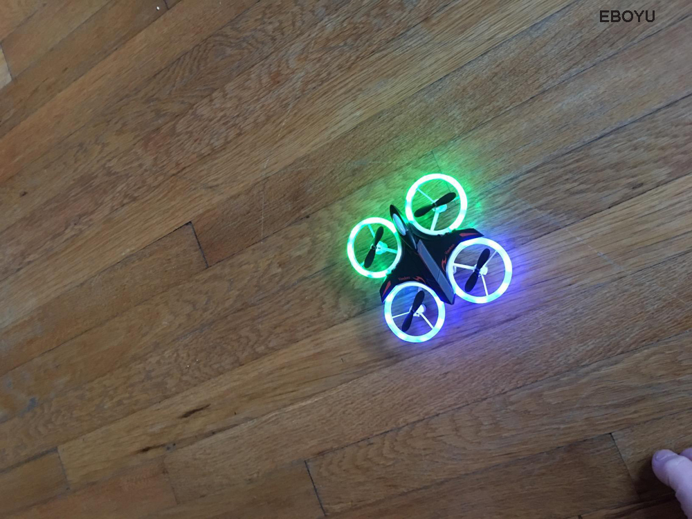 LED 2.4GHz Drone Colourful 15