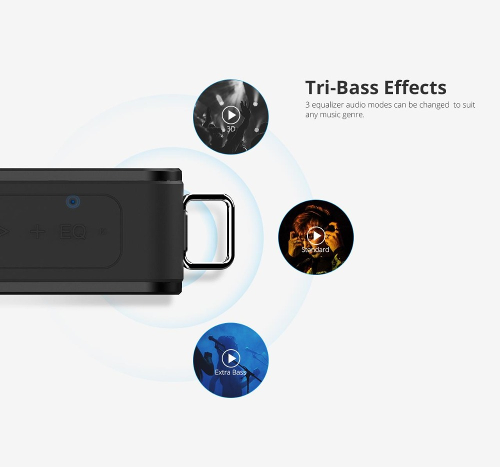 Tronsmart Element Force Bluetooth Speaker IPX7 Waterproof Portable Speaker 40W Computer Speakers 15H Playtime with Subwoofer,NFC 04