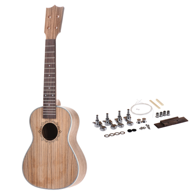 23 Inches Concert Ukulele DIY Kit