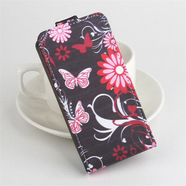 Tiger Flower UK Flag Lenovo A319 Case New Leather Flip Wallet With Card Slots For Lenovo A319 cover Free shipping
