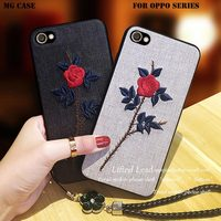 Embroidered Flower TPU Phone Cases For Vivo X9 X9S X9PLUS X9SPLUS Fashion Embroidered FLOWER Bag Cover