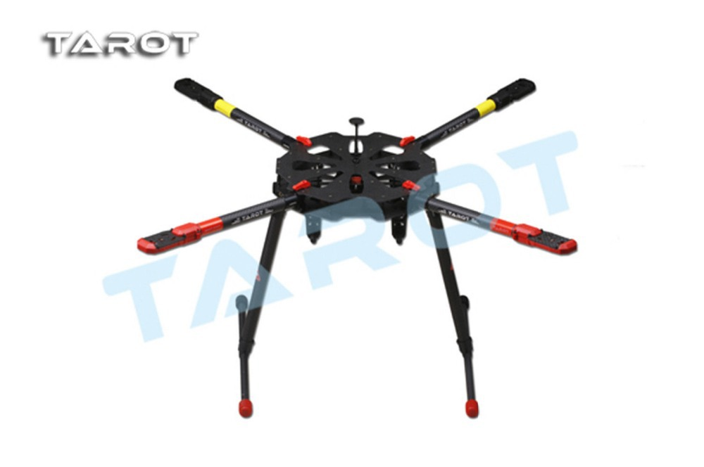 F11282 Drone X4 ALL Carbon Heli Kit with Retractable Landing Skid TL4X001 + FS