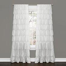 Columna de la ventana de bolsillo de la barra del columpio para la sala de estar (un panel), 84 por 50 pulgadas, blanco