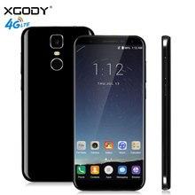 Xgody D24 Pro смартфон 5.5 дюймов 2.5D изогнутые 18:9 полный скрин отпечатков пальцев 2 ГБ Оперативная память 16 ГБ Встроенная память mtk6737 13.0mp 4 г сенсорный телефон Android