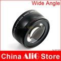 DSLR Camera Lens 0.45x Soft Fisheye Side Angle Macro Lens Filter for 60d 70d 600d 650d 700d 1200d 18-55mm 58mm Diameter Filter
