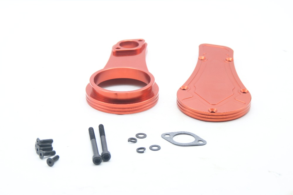 New type  Alloy Aluminum airfilter base for ROVAN LT,LOSI 5IVE-T cnc metal alloy rear wheel bearing kit for losi 5ive t rovan lt