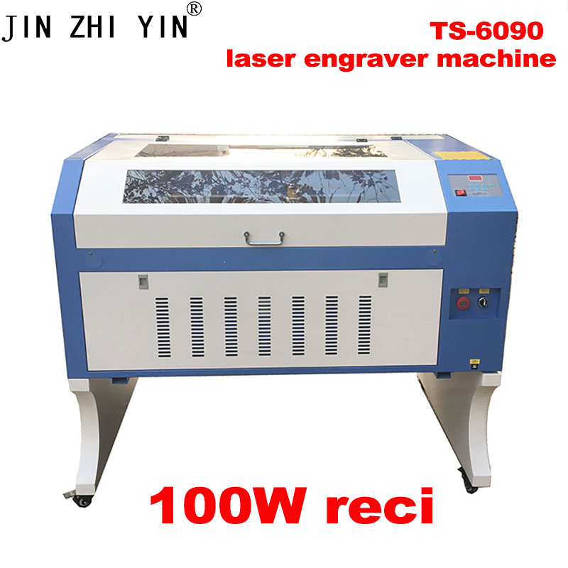 6090 100Wre Ci Laser Engraving Machine 900*600mm Co2 Laser Cutting Machine With Up And Down Table 110V/220V USB Interface