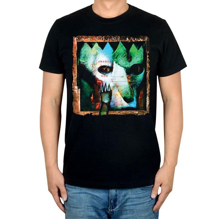 14 видов иллюстрации Райский Lost Rock брендовая футболка панк готический Металл черные рубашки уличная Harajuku искусство картины camiseta - Цвет: 13