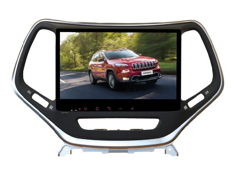 Quad Core 10.1 &#8220;Android 6.0 dvd-плеер автомобиля для <font><b>Jeep</b></font> Cherokee 2014-2016 Авто GPS штатные 3 г DVR Радио Стерео магнитофон