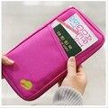Passport CoversTravel Zipper Wallet Fabric passport holder Cover Wallet Purse Organizer Bag business card holder passport cover