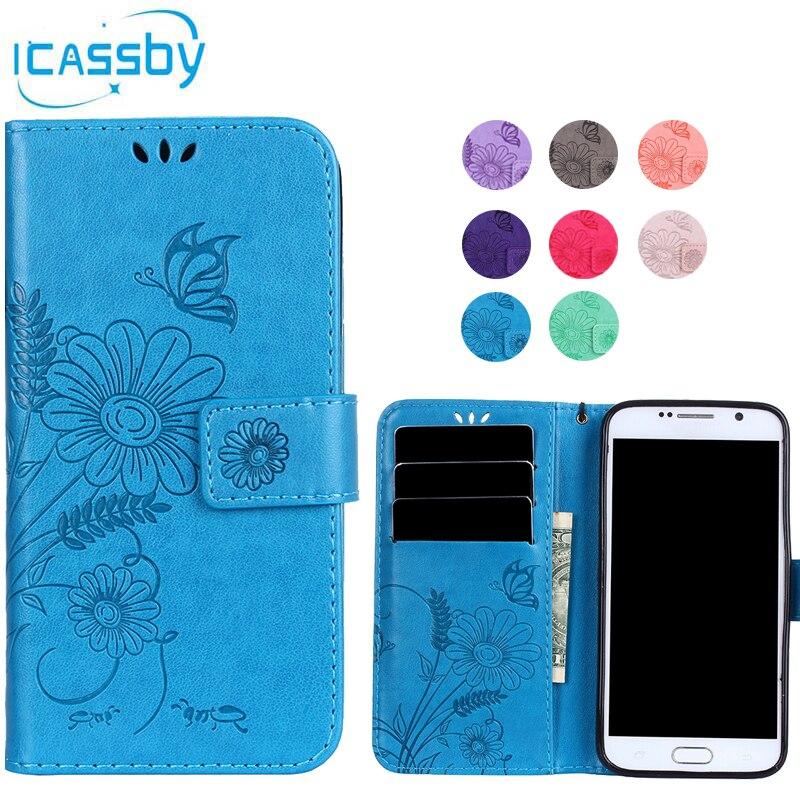 Кожаный бумажник для Coque Samsung Galaxy S6 случае G9200 откидная крышка для Sansung S6 Duos Телефонные Чехлы для Galaxy S6 s 6 capinha <font><b>ETUI</b></font>