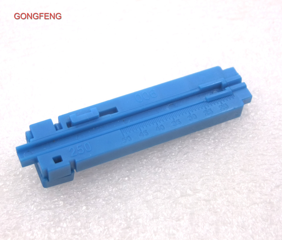 GONGFENG 100pcs NEW Optical Fiber Quick Connector Tool Assembly Fixed Length Stripper length of guide rail