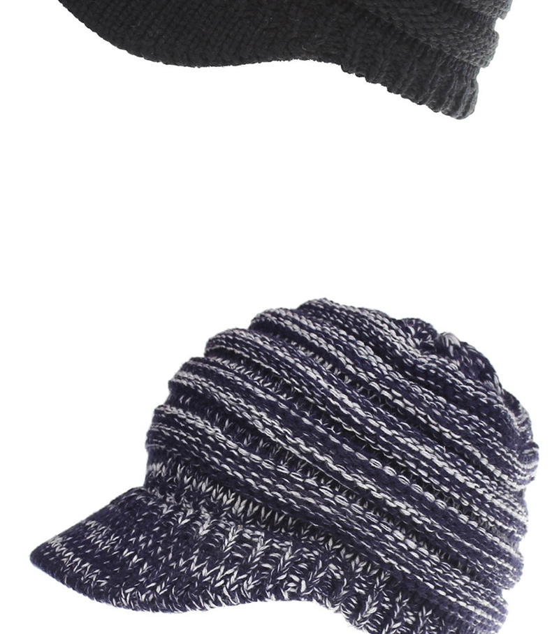 c156cae8ad4b4 Hat Women Knitted Hat Ladies Ponytail Beanie Caps For Women Twist Headwrap  26