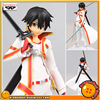 Japan Anime Sword Art Online Original Banpresto Collection Figure Kirito Special Color Ver White