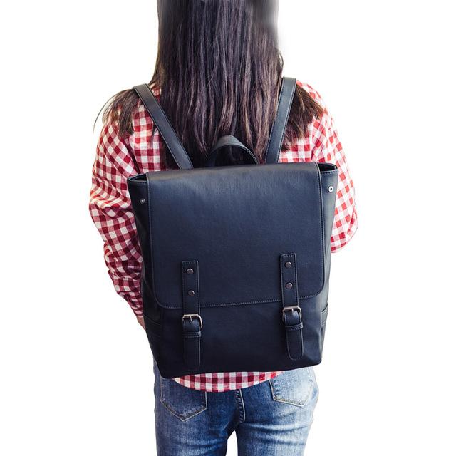 Women's High Quality PU Backpack