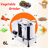 110V/220V Food Cutting Machine Multifunctional Electric Meat /Vegetable Mixer Commercial Stuffing Mixer HR 6