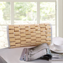 Summer Bamboo pillow Cool and Refreshing bamboo pillow 32*16*8cm neck pillow home decor strpe rectangle Hollow therapy pillows(China)