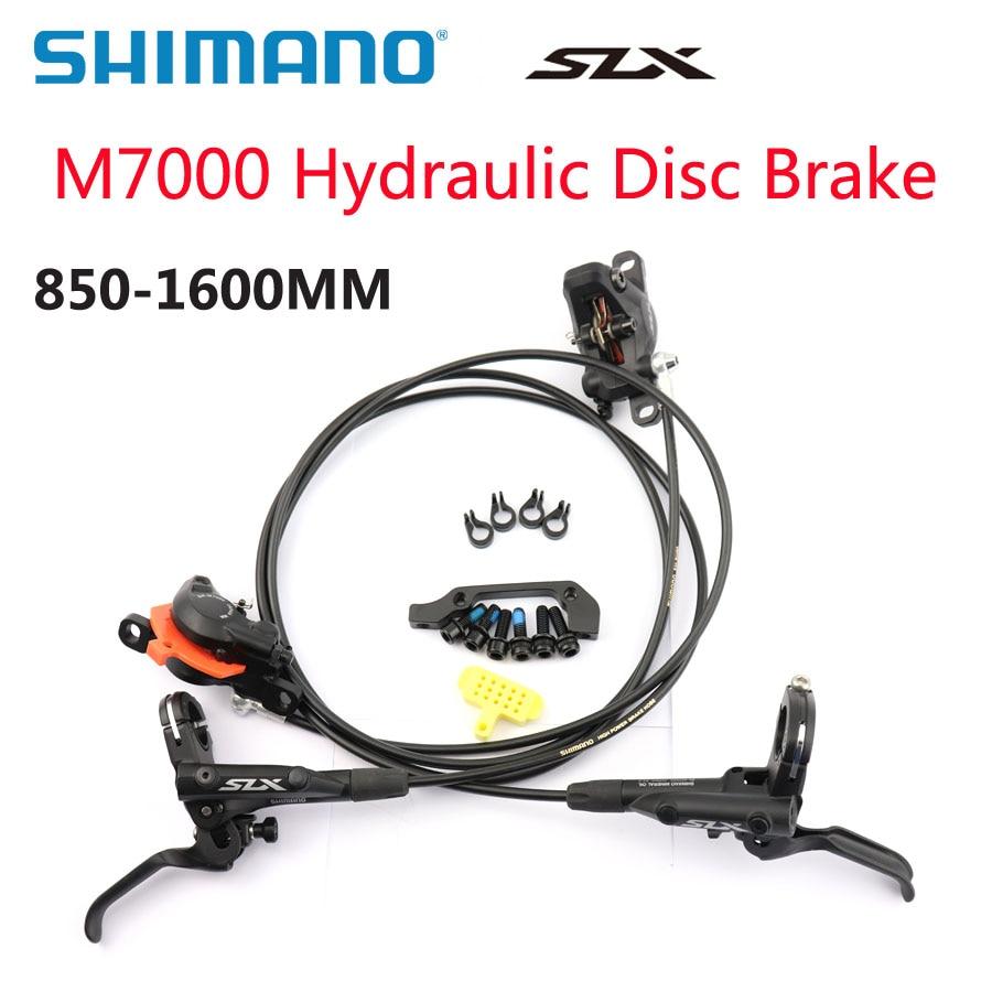 SHIMANO DEORE SLX M7000 Brake Mountain Bikes Hydraulic Disc Brake BR BL M7000 Front Rear 850MM